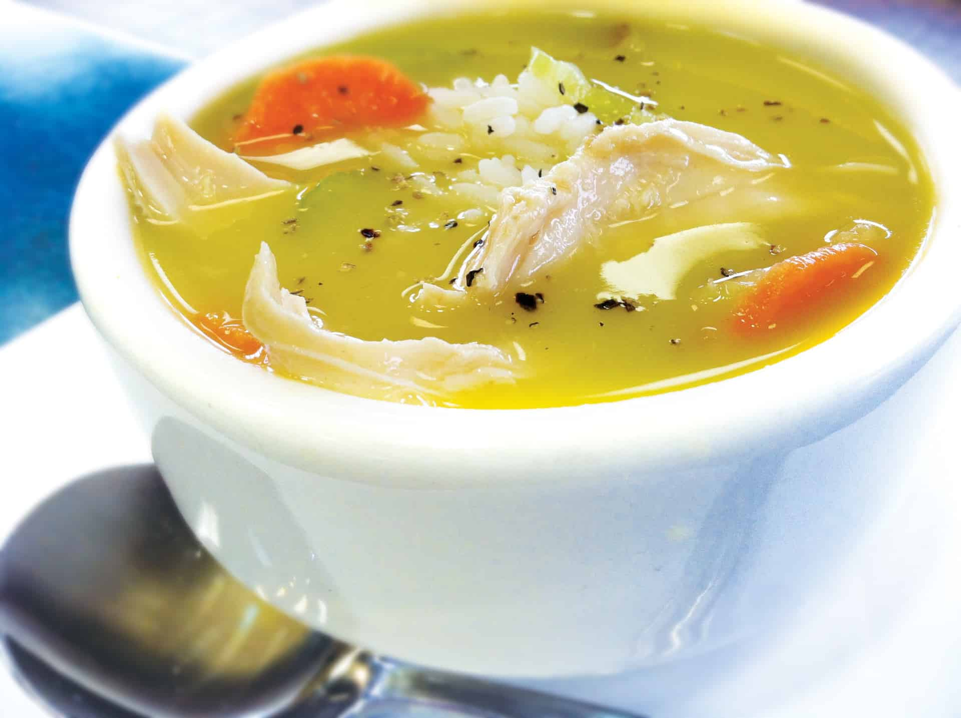Luby's Homestyle Chicken Soup